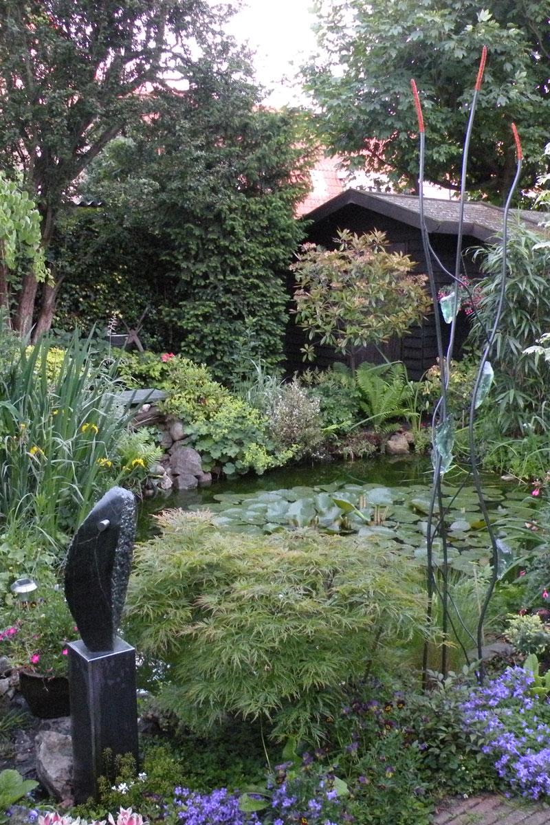 Mooie tuin in Haarlem