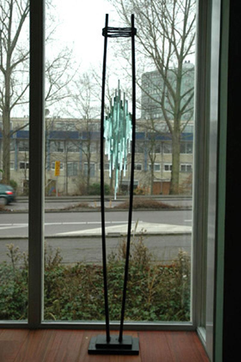 Voor het raam in Zaandam